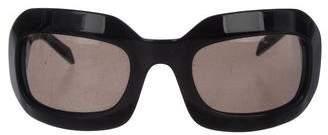 Lanvin Tinted Oversize Sunglasses