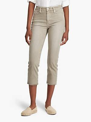 Ralph Lauren Ralph Regal Straight Ankle Jeans, Dry Sage Wash