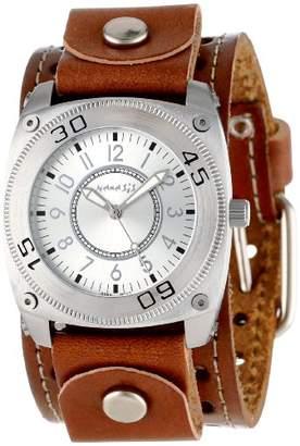 Nemesis Unisex S12BSTH Elegant Silver Round Quality Watch