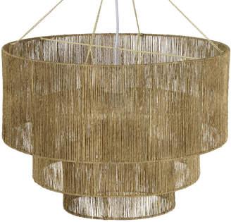 Lulu & Georgia Chavette Chandelier, Natural