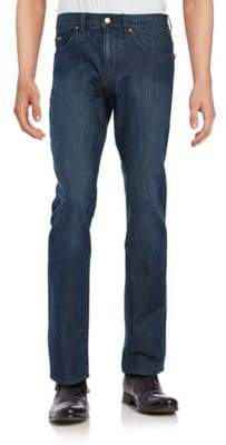 BOSS GREEN Straight-Leg Jeans