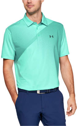 Under Armour Men Shoulder Striped Playoff Polo