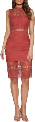 Bardot Mariana Lace Body-Con Dress