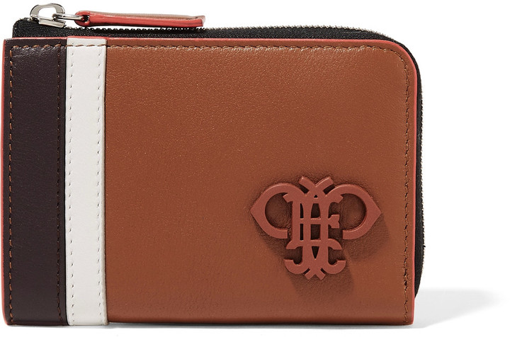 Emilio Pucci Emilio Pucci Striped leather wallet
