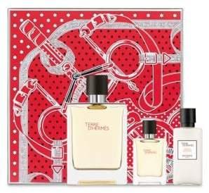 Hermes Terre d'Hermes Eau de Toilette Three-Piece Gift Set