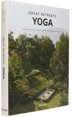 Taschen Great Yoga Retreats Hardcover Book - White