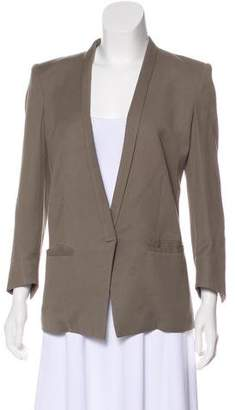 Helmut Lang Structured Shawl Lapel Jacket