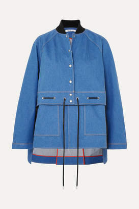 Adeam Convertible Denim Jacket