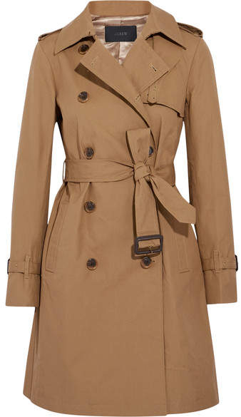 J.Crew - Cotton-canvas Trench Coat - Camel