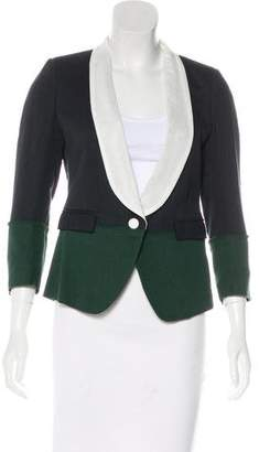 Band Of Outsiders Collared Colorblock Blazer w/ Tags
