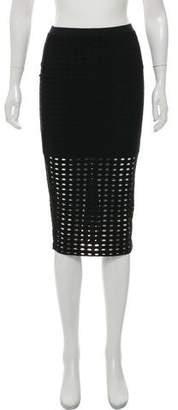 Alexander Wang Patterned Knee-Length Skirt