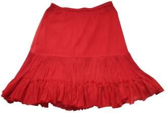 Stella Forest Red Skirt for Women