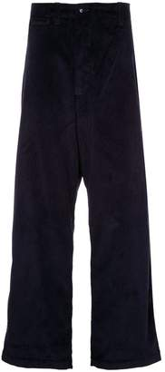 E. Tautz loose-fit corduroy trousers