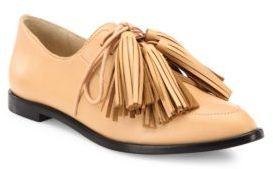 Loeffler Randall Jasper Tassel Leather Oxfords $365 thestylecure.com