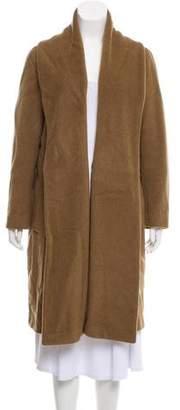 Gerard Darel Wool & Angora-Blend Long Coat