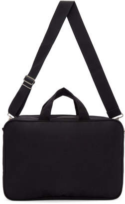 Comme des Garcons Homme Deux Homme Deux Black Nylon Oxford Bag