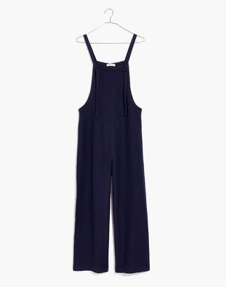 Madewell Texture & Thread Tie-Strap Overalls