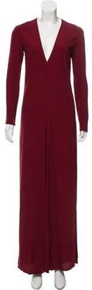 Reformation Long Sleeve Maxi Dress