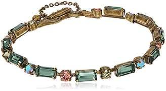Sorrelli Gem Pop Line and Dot Line Bracelet