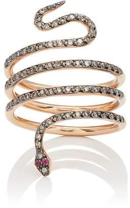 Ileana Makri Women's Single Python Ring