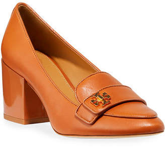 61ea995f8fb Tory Burch Kira Block-Heel Loafer Pumps