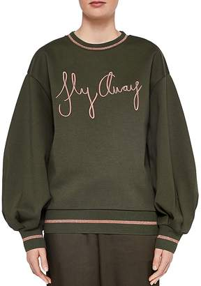 Ted Baker Ted Says Relax Abileen Fly Away Sweatshirt