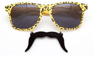 SUN-STACHES The After Party Sunglasses