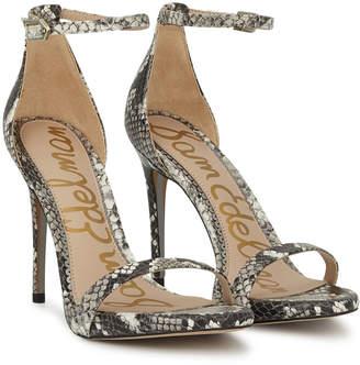 f56e9e444521 Sam Edelman White Suede Women s Sandals - ShopStyle