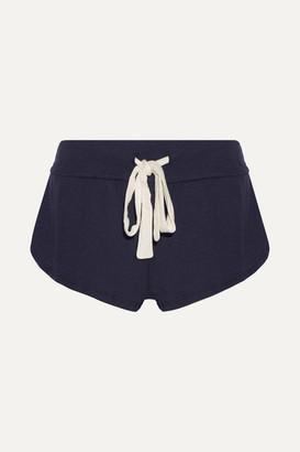 Eberjey Heather Jersey Pajama Shorts - Storm blue