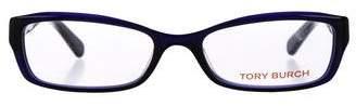 Tory Burch Rectangular Acetate Eyeglasses