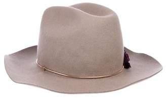 Golden Goose Wool Embellished Hat