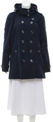 Burberry Short Double-Breasted Coat