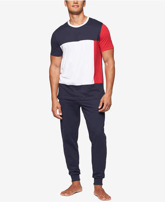 Tommy Hilfiger Men's Modern Essentials Colorblocked Cotton T-Shirt