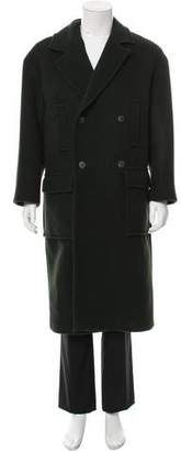 Raey Double-Breasted Wool Overcoat