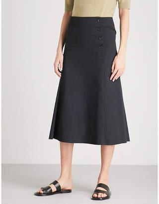 Joseph Chino Smith cotton midi skirt