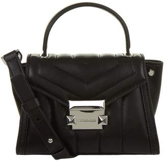 MICHAEL Michael Kors Mini Whitney Leather Messenger Bag