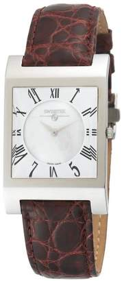 Mother of Pearl Swisstek SK57744L Limited Edition Swiss Watch With Mother-Of-Pearl Dial