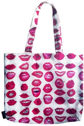 Kahri Sexy Red Lips Tote Bag