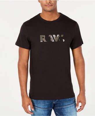 G Star Men's Camo Logo T-Shirt, Created for Macy's