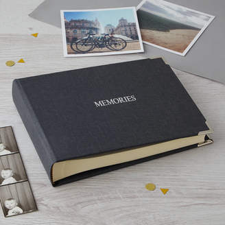 Harris & Jones Personalised Photo Album In Linen
