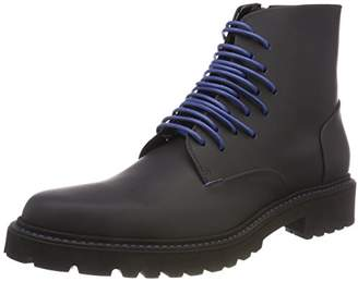 HUGO Men's Rave_halb_rb Combat Boots