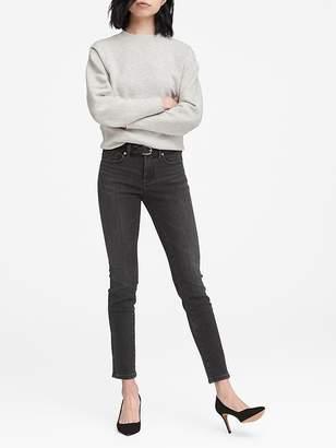 Banana Republic Slim Straight Black Jean