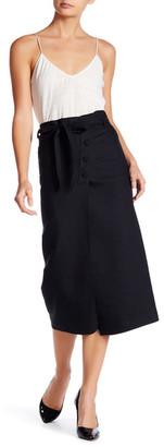 Helmut Lang Wrap Skirt $395 thestylecure.com