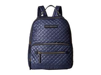 Tommy Hilfiger Alva Backpack Quilted Nylon Backpack Bags