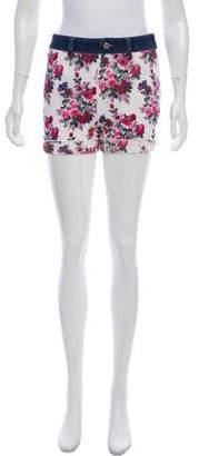 Dolce & Gabbana Knit Mid-Rise Shorts