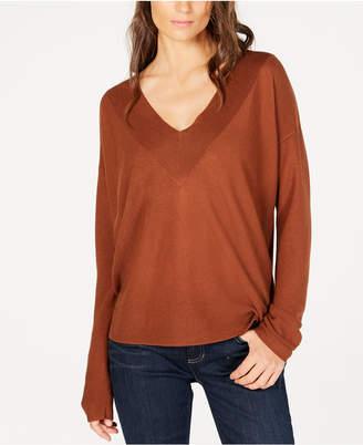 Eileen Fisher Tencel V-Neck Sweater, Regular & Petite