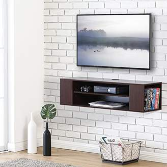 Fitueyes Wall Mounted Audio/Video Console wood grain for xbox one/PS4/vizio/Sumsung/sony TV DS210001WB