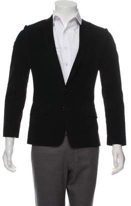 Dolce & Gabbana Corduroy Two-Button Blazer