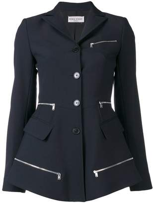 Sonia Rykiel zipped detailed blazer