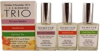 Demeter Blending Trio Trio 3 X 1 Oz = 30 Oz ( Provence Meadow+sandalwood+earl Grey Tea )